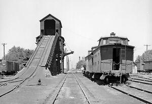 """1941 Coaling Station on Railroad, Nampa, Idaho Old Photo 13"""" x 19"""" Reprint"""