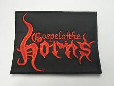 GOSPEL OF THE HORNS EMBROIDERED PATCH