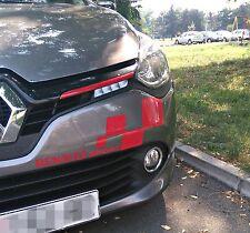 2x Renault Sport Logo Aufkleber Clio Megane Laguna Scenic Twingo Captur Espace..