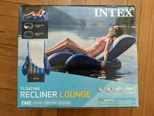 Intex Inflatable Floating Lounge Pool Recliner Chair w Cup Holder🚨FREE SHIPPING