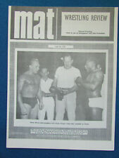 MAT Wrestling Review - 3/2/69 - Issue 578 - Dorey Dixon & Buddy Rogers Cover