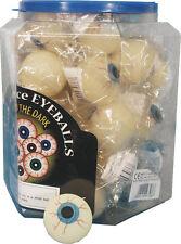 1 BALLE YEUX PHOSPHORESCENTE jeux jouets kermesse halloween fluo 3,5 cm