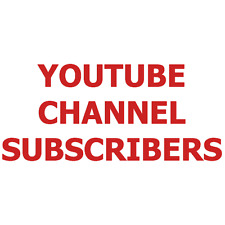 1000 Real YouTube Channel Subscribers - No Admin Access