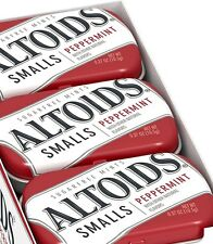 X3 Altoids Smalls Sealed Sugar Free Peppermint Tins 50 each (150 mints)