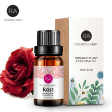 100% Pure Rose Essential Oils PREMIUM Undiluted Therapeutic Grade 10mL ROSE OIL