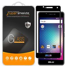 Supershieldz BLU R1 HD Full Cover Tempered Glass Screen Protector (Black)