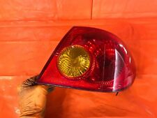 Oem 2006 06 Toyota Corolla Passenger Right Outer Tail Light Lamp R Rh