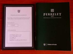 Perrelet Certificate of Authenticity A2062/5 and Booklet