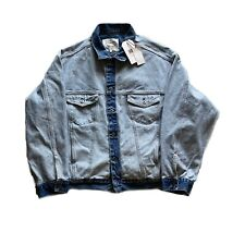 Levi's Made&Crafted New West About Face Men's Trucker Denim Jeans Jacket $198 L