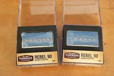 REBEL 90 SET R90 BUCKER HAND BUILT QUALITY TONERIDER ALNICO II P90 7.9+8.5k HOT