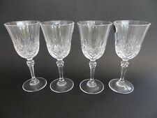 Cristal D 'arques 24% de cristal de plomo Copas de Vino Juego de 4. 17cm de alto, 7.5cm Llanta Di