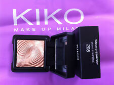 1x KIKO  MAKEUP MILANO 208 WATER EYESHADOW 3G ( WHISPER OF GILT DUPE)