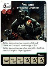 1x Dice Masters Marvel Civil War Card + Die - UNCOMMON Venom Symbiotic Organism