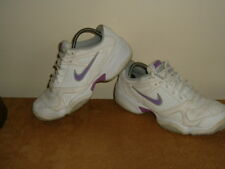 NIKE City court 6 ladies womens / older girls white trainers shoes size 6 vgc