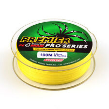 4Stands Super Strong Dyneema Spectra Extreme PE Braided Sea Fishing Line 100m
