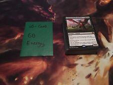 Mtg Complete 60-Card Decks - Green Black Energy - Glint-Sleeve Siphoner + More