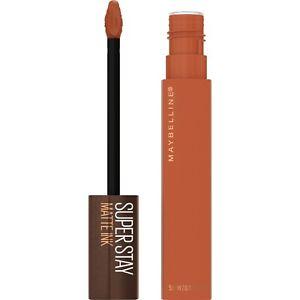 Maybelline SuperStay Matte Ink Liquid Lipstick Coffee Edition Choose Shade