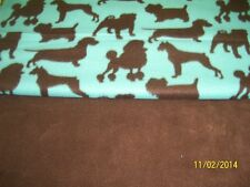 Dog Blanket Dachshunds Pugs Poodles Terrier Can Personalize Double Sided 28x22