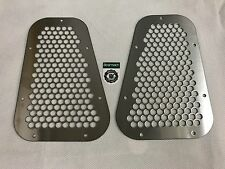 Bearmach Land Rover Defender Wing Top Vents Stainless Steel (Pair)  BA 3900