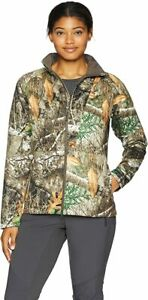 Under Armour Women's Brow Tine Realtree Edge Camo Mid Season Jacket Size Medium