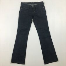 Citizens Of Humanity Women's Size 26 Low Wasted Boot-cut Dark Wash Jeans B2