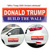 30 Pcs Lot Donald Trump 2020 Build The Wall US President Bumper Car Stickers yu