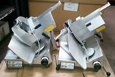 Bizerba Gsp-Hd Automatic Gravity Meat Cheese Deli Slicer. Lot of 2