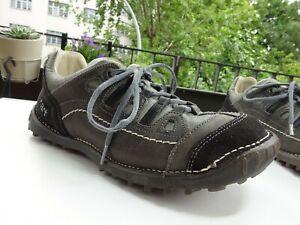 THE ART COMPANY 151 Herren Soft Schuhe Leder Grau Spain Gr.44 f.Neuwertig