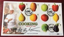 Benham 25.3.2003 Fun Fruit And Veg FDC Signed HUGH FEARNLEY WHITTINGSTALL, chef