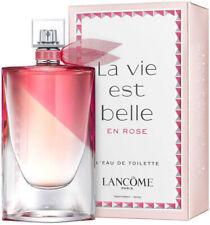 La Vie Est Belle En Rose by Lancome 3.4oz Eau De Toilette Spray for Women