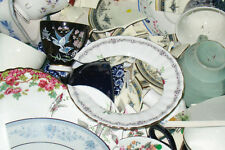 Various Broken China / Pottery Pieces for Mosaics / Arts and Crafts - 3KG