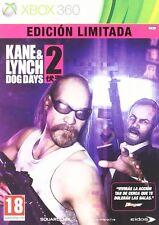 KANE & LYNCH 2 EDICIÓN LIMITADA. JUEGO XBOX 360. CAJA CON RASGUÑO. NUEVO,PRECNT.