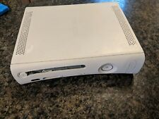 Microsoft Xbox 360 Pro HDMI Model White Console Only Spares or Repairs