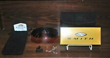 Smith Ocular Docking System Amber and Black Lenses, Nose Pieces, Case, Bag