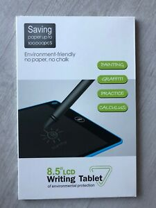 """Writing Tablet Board Electronic LCD 8.5 12"""" Pad Graphics Drawing Kid All Colours"""