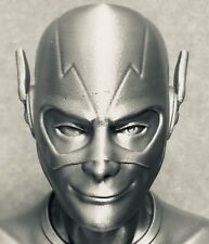 """3D Printed Flash Bust - 7.5"""" Tall - Free Shipping!"""