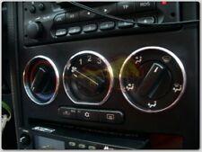 Opel Zafira A / Opel Astra G 99-05 Alu Ringe für Lüftungsregler / Heizungsregler