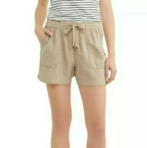 "NWT TIME and TRU linen shorts size XXXL/3XG (22) 4"" inseam relaxed fit"