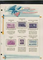 united states commemoratives 1944/45 stamps page ref 18250