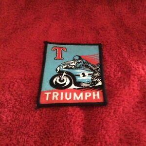 Triumph collectors badge or patch