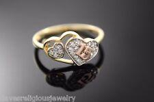 15 Años Quinceañera Anillo Oro Corazon Religious 14k Gold Sweet 15 Heart Ring