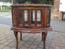 Mahogany 60cm-80cm Height Display Cabinets