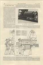 1925 Asphalt Mixing Plant Davey Paxman Description