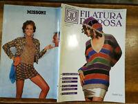 Filatura Di Crosa Spring/Summer Collection 1991 Knitting Italian English Text