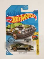 Hot Wheels 2020 '92 Ford Mustang - Zamac #011 - US Exclusive - HW Art Cars 1/10