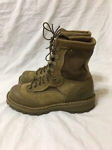 "Danner USMC Rat GTX 8"" Mojave Gore-Tex Boots USA Marines Size 5.5 R (15678)"