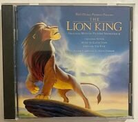Elton John, Tim Rice, Hans Zimmer ‎– The Lion King (Original Soundtrack) CD