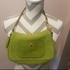 Authentic Lime Green Coach purses