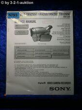 Sony Service Manual DCR TRV255E TRV260 TRV265 TRV265E (#5793)