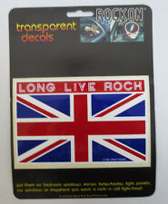 THE WHO LONG LIVE ROCK ROCK ON DECAL CAR WINDOW MIRROR DECALS ROCK & ROLL NEXT